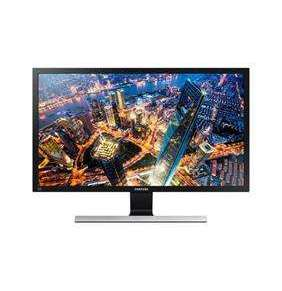 """SAMSUNG MT LED LCD 28"""" U28E590 -  plochý, TN, 3840x2160 (UHD), 2xHDMI, Display Port, 1 ms"""