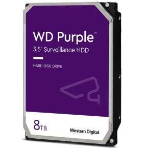 """WD PURPLE 8TB / WD84PURZ / SATA 6Gb/s / Interní 3,5""""/ 5640 rpm / 128MB"""