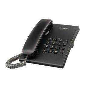 Panasonic KX-TS500FXBjednolinkovy telefon - čierny