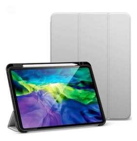 """ESR puzdro Silicon Rebound Pencil Case pre iPad Pro 11"""" 2021 - Silver Gray"""