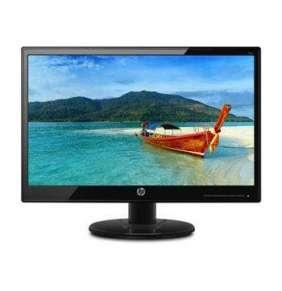 """LCD HP Monitor 19k LED backlight AG  18,5"""" matný  1366 x 768  6M:1, 200cd, 5ms, 1xVGA, černý"""