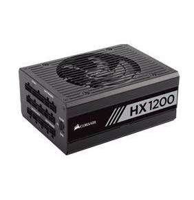 Corsair zdroj 1200W HX1200 80 PLUS, modulárny, Platinum 135mm ventilátor
