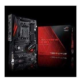 ASUS ROG CROSSHAIR VII HERO soc.AM4 X470 DDR4 ATX M.2 RAID USB3.1