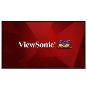"""ViewSonic Flat Display CDE8620 W-E/ 86""""/ 24/7 LCD /3840x2160/ 8ms/ 450cd/ HDMIx 2 out x 1 /DP / VGA /USB A x 3 /RJ45 /RS"""