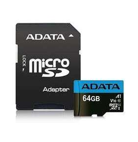 ADATA MicroSDXC 64GB UHS-I 100/25MB/s + adapter
