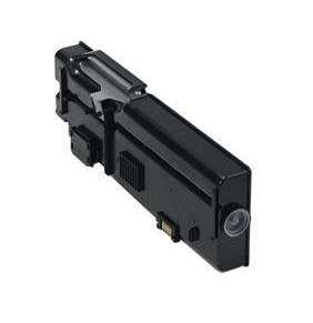 Dell 3000-Page Black Toner Cartridge for Dell C2660dn/C2665dnf Color Printers Customer Install
