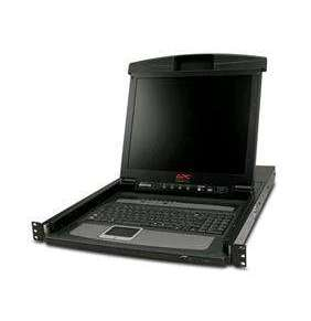 """APC 17"""" Rack LCD Console with Integrated 8 Port Analog KVM Switch"""