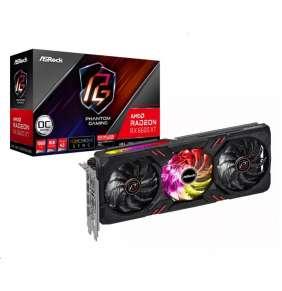 ASROCK AMD Radeon RX 6600 XT Phantom Gaming D 8GB OC / 8GB GDDR6 / PCI-E / 1x HDMI / 3x DP