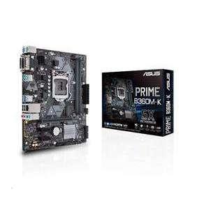 ASUS PRIME B360M-K soc.1151 B360 DDR4 mATX M.2 DVI D-Sub