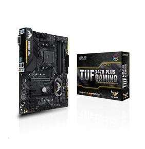 ASUS TUF X470-PLUS GAMING soc.AM4 X470 DDR4 ATX M.2 RAID USB-C DVI HDMI