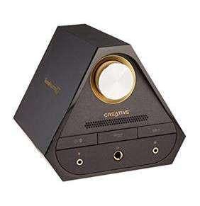 CREATIVE Sound Blaster X7, černý, digitálně-analogový převodník s USB, zesilovač zvuku s dekodérem Dolby Digital