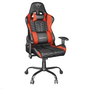 TRUST herní křeslo GXT 708R Resto Gaming Chair, červená