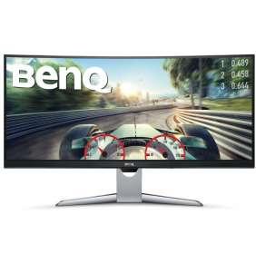 BenQ LCD EX3501R 35'' Curved VA/3440x1440/8bit/4ms/DP/HDMIx2/USB-C/Jack/VESA/HDR10/100% sRGB/100Hz