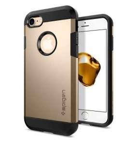 Spigen kryt Tough Armor pre iPhone 7 - Champagne Gold