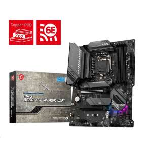 MSI MB Sc LGA1200 MAG B560 TOMAHAWK WIFI, Intel B560, 4xDDR4, 1xDP, 1xHDMI, WI-FI