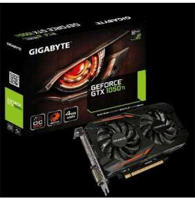 GIGABYTE  GeForce GTX 1050 Ti / PCI-E / 4GB GDDR5 / DVI-D / HDMI / DP / / active (Overclock)