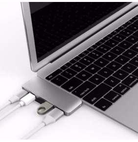 Hyper USB-C Hub with Mini DisplayPort 4K - Silver