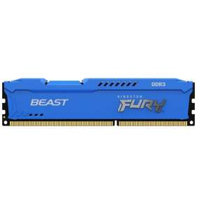 4GB DDR3-1866MHz CL10 Kingston FURYBeastBlue