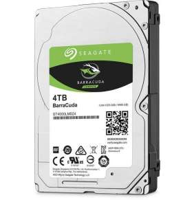 "Seagate Mobile BarraCuda 2,5"" 4TB 5400RPM 128MB SATA, 15mm"