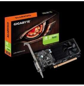 VGA Gigabyte GV-N1030D5-2GL, GT 1030, 2GB GDDR5, 64bit, 1xDVI, 1xHDMI, Low Profile