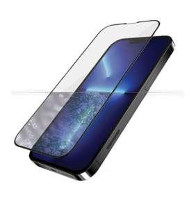 PanzerGlass ochranné sklo Friendly Case AB pre iPhone 13 Pro Max - Black Frame