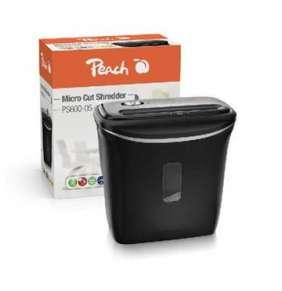 PEACH skartovač Micro Cut PS600-05, P-5, 65dB, 5 listů, autostart, 12 L