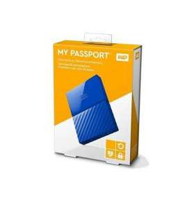 "WD 3TB My Passport Black Bird, 2,5"", USB 3.0, Externý modry"