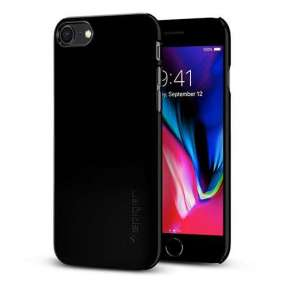 Spigen kryt Thin Fit pre iPhone 8 - Jet Black