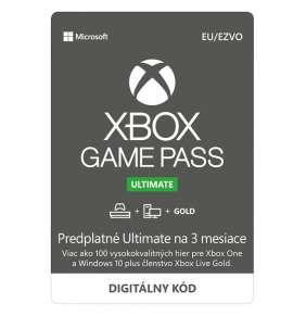 ESD XBOX - Game Pass Ultimate - předplatné na 3 měsíce (EuroZone)
