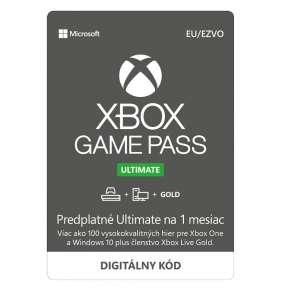 ESD XBOX - Game Pass Ultimate - předplatné na 1 měsíc (EuroZone)