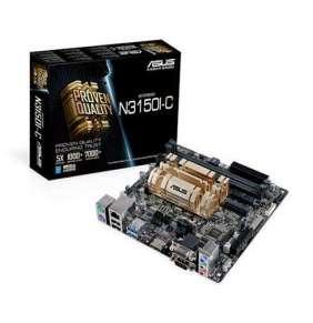 ASUS N3150I-C, Intel® Celeron® Quad-Core N3150, D-sub, HDMI, RS232, 2xDDR3, VGA, mini-ITX