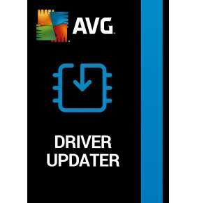 AVG Driver Updater (1 PC, 1 Year)