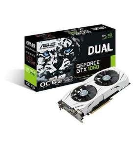 ASUS VGA NVIDIA DUAL-GTX1060-O6G, PCI-E, DVI, 2x HDMI, 2x DP, 6GB GDDR5