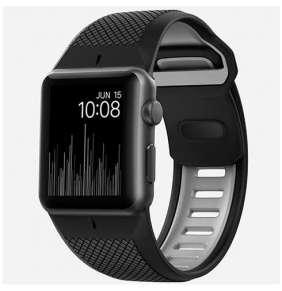 Nomad náramok Sport Strap pre Apple Watch 42/44 mm - Black/Grey
