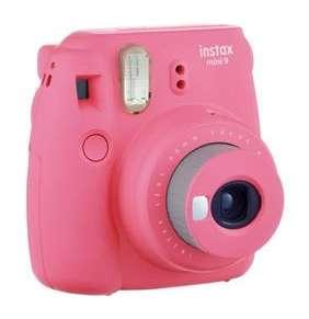 FUJIFILM Instax Mini 9 Flaminco Pink - unikatny fotoaparat s tlacou fotografii