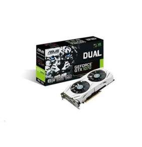 ASUS VGA NVIDIA DUAL-GTX1070-8G, PCI-E, DVI, 2x HDMI, 2x DP, 8GB GDDR5