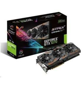 ASUS VGA NVIDIA STRIX-GTX1070-O8G-GAMING, PCI-E, DVI, 2x HDMI, 2x DP, 8GB GDDR5