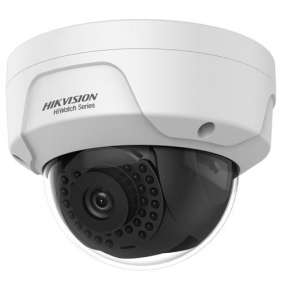 HiWatch IP kamera HWI-D140H/ Dome/ 4Mpix/ objektiv 4mm/ H.265+/ krytí IP67+IK10/ IR až 30m/ kov+plast