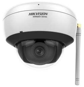 HiWatch IP kamera HWI-D220H-D/W(D)/ Dome/ 2Mpix/ objektiv 2,8mm/ H.265+/ krytí IP66/ IR až 30m/ WiFi/ plast