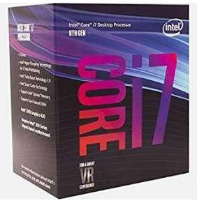 CPU INTEL Core i7-8700K 3,7GHz 12MB L3 LGA1151 BOX (bez chladiče)
