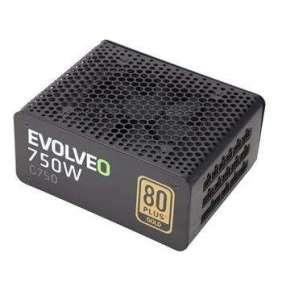EVOLVEO G750 zdroj 750W, 80+ GOLD, 90% účinnost, aPFC, 140mm ventilátor, retail