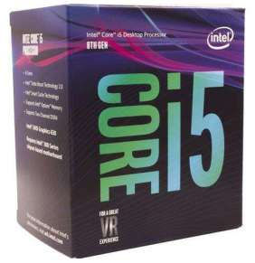 CPU INTEL Core i5-8600 BOX (3.1GHz, LGA1151, VGA)