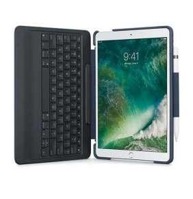 Logitech Pouzdro s klávesnicí SlimCombo for iPad Pro 10.5 inch, UK, Classic Blue