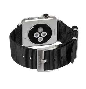 InCase Nylon Nato Band for Apple Watch 42/44 mm - Black