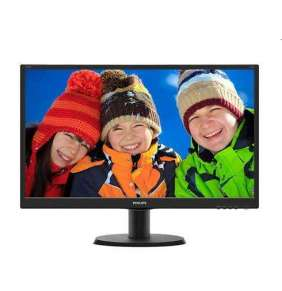 "Philips 23,8"", IPS-ADS, W-LED, 1920x1080/60Hz, 16:10, 5ms, 20M:1, 1000:1,  250cd, VGA, DVI-D, HDMI, repro, black"