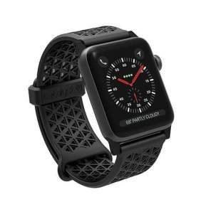 Catalyst náramok Sport Band pre Apple Watch 42/44 mm  - Stealth Black