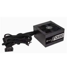 Corsair ATX zdroj, CX Series™ CX650, 650W, 120mm FAN, 80+, black