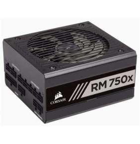 CORSAIR zdroj, RM750x 80+ Gold, 135mm ventilátor (ATX, 750W), modulární PSU, bílá