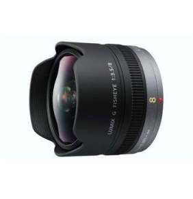 Panasonic H-F008E - LUMIX G FISHEYE 8mm/F3.5