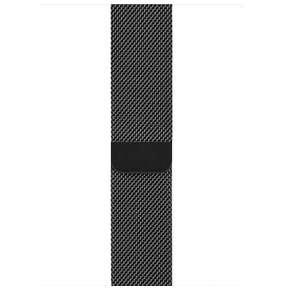 Apple Watch 44mm Space Black Milanese Loop